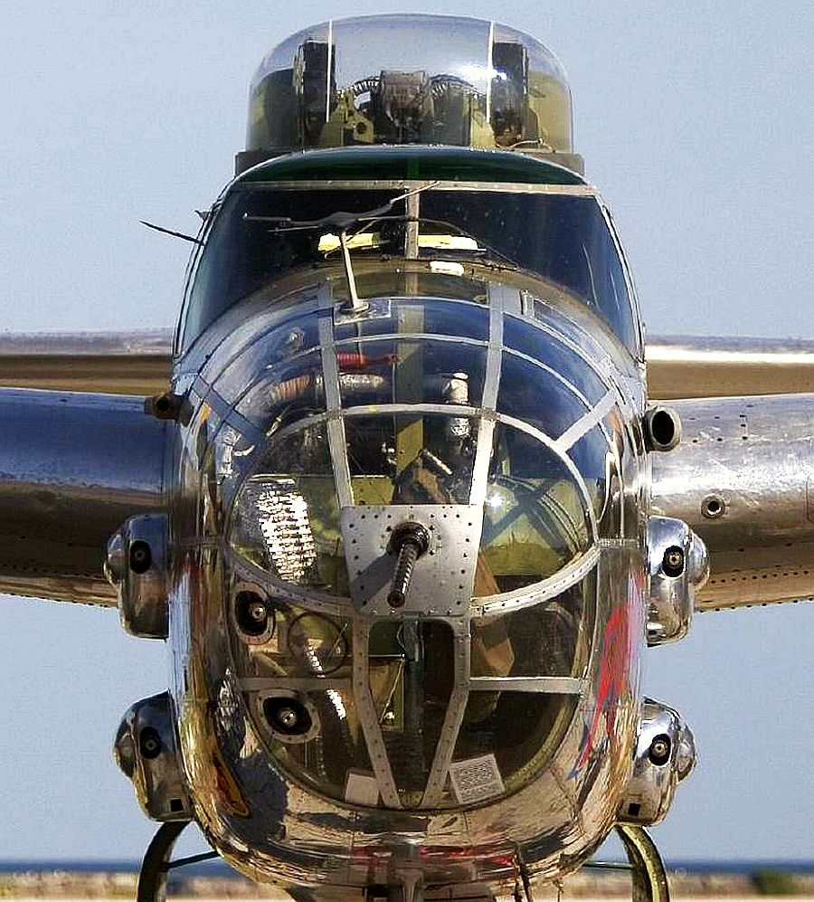 Face To Face With A B 25 Mitchell Bomber All At Sea