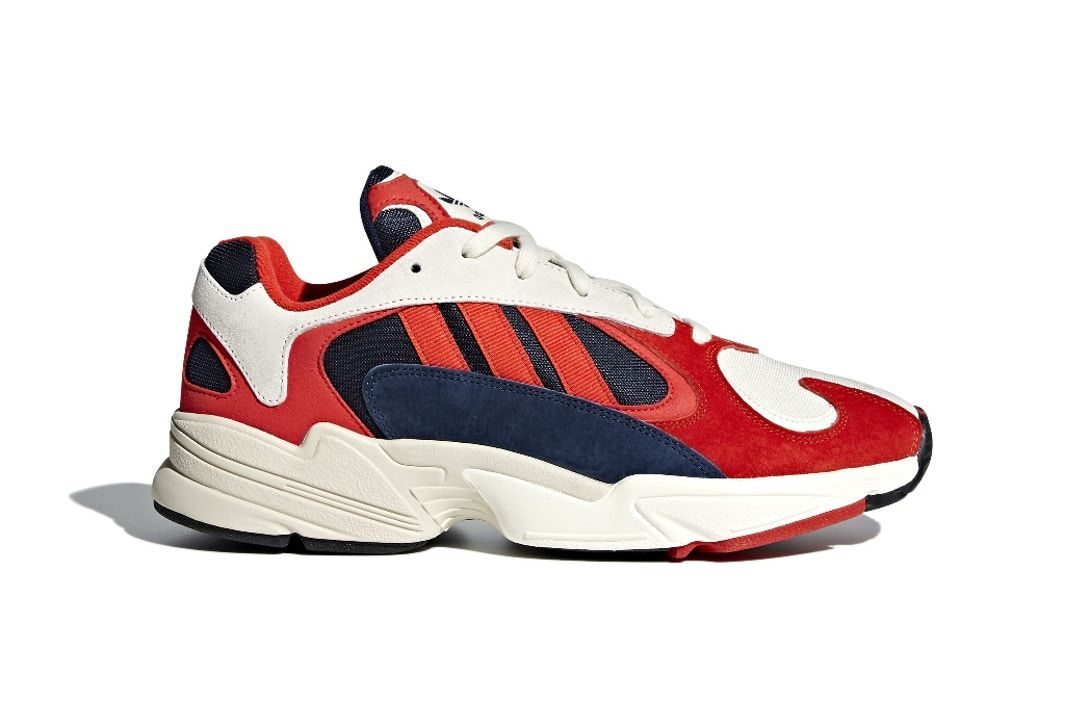 The Adidas Yung 1 Surfaces in Red, White   Blue as the Release Date ... 7446cdeabeec