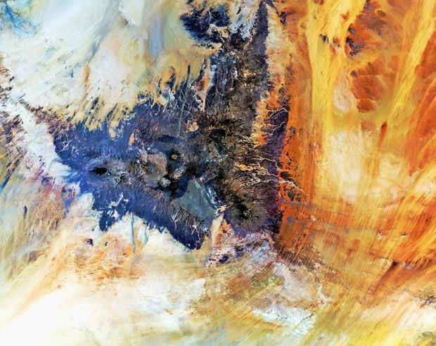 [Image] | Art Of The Earth: Breathtaking Satellite Portraits Of Our... - TIMEWHEEL