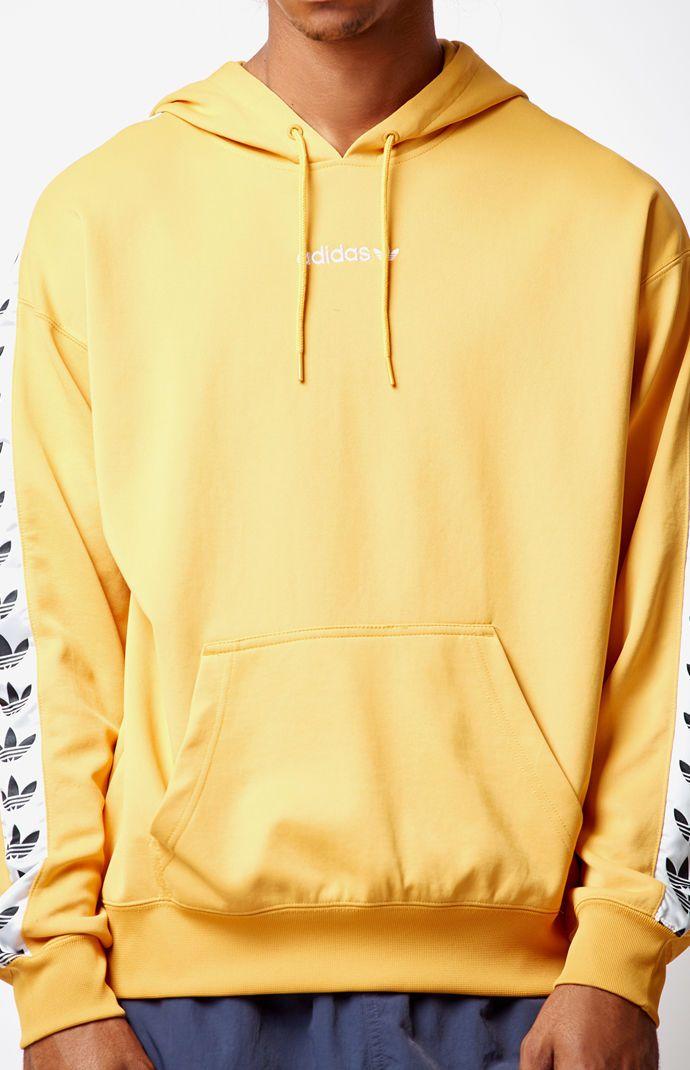 pas mal 8ef4d 7c93e adidas TNT Tape Yellow Pullover Hoodie at PacSun.com | À acheter