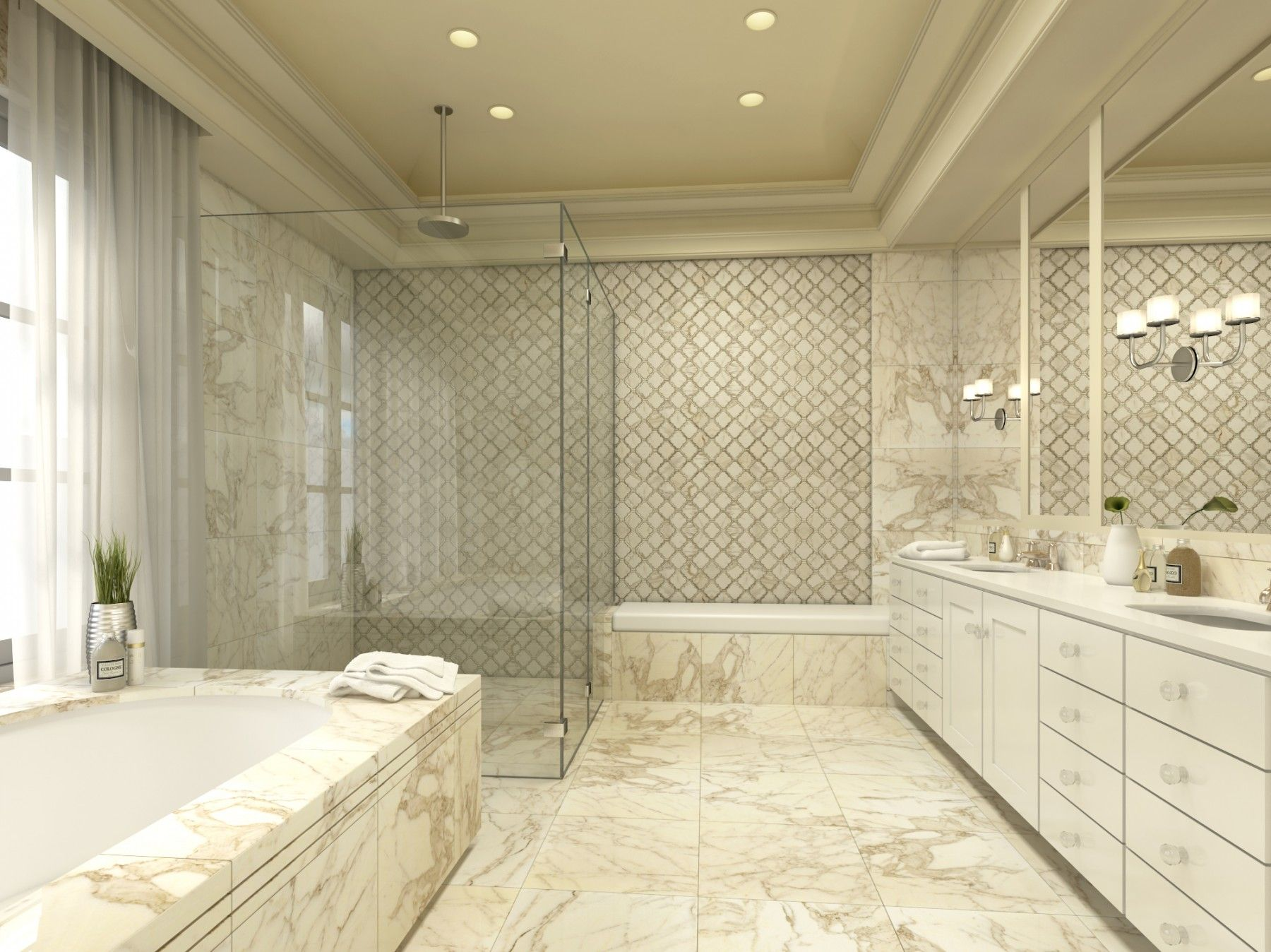 For Highland Milan Marble Tile At Tilebar Dream Home. Bathroom Marble  Bathrooms Beautiful ...