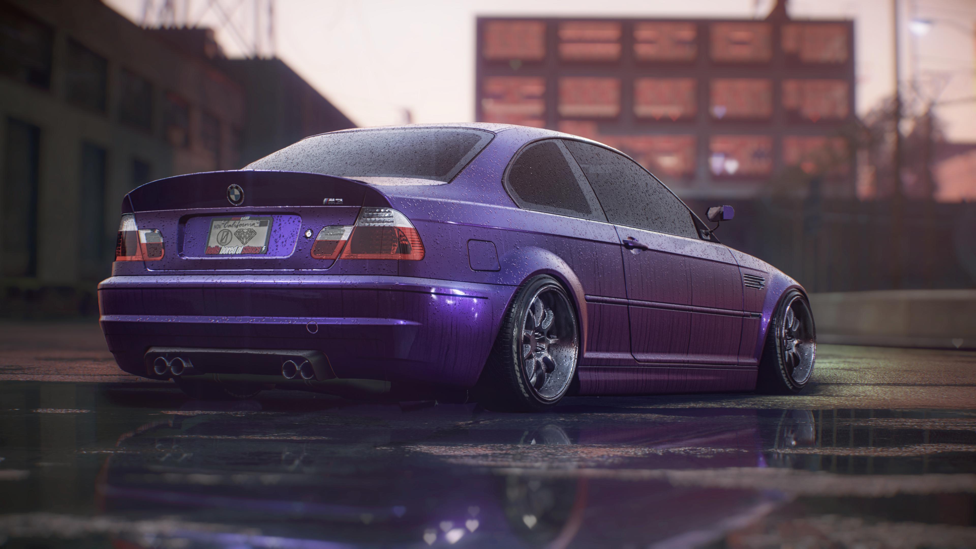 Bmw M3 E46 Midnight Purple Bmw M3 Bmw Bmw Wallpapers