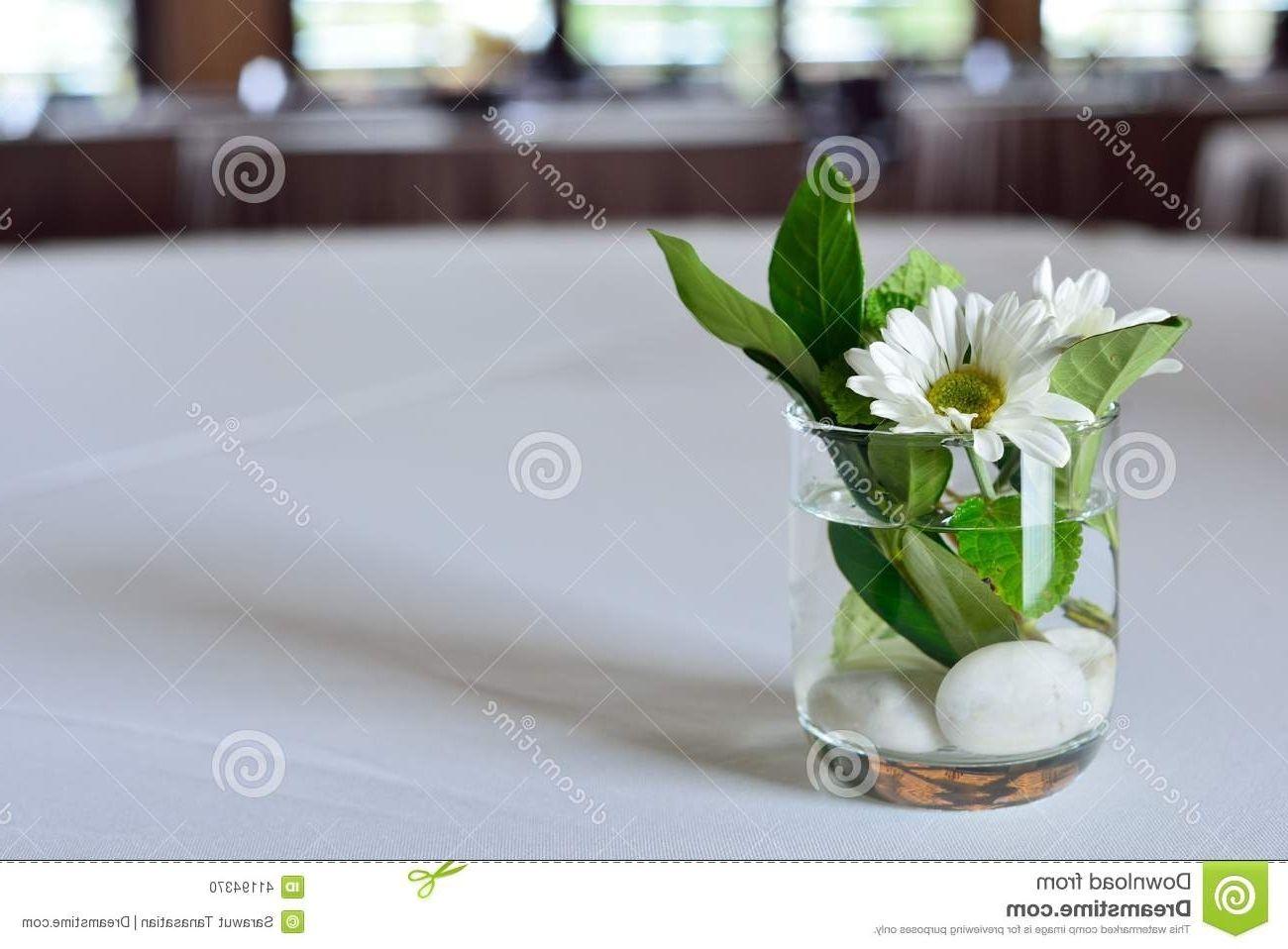 Restaurant Table Flower Vase