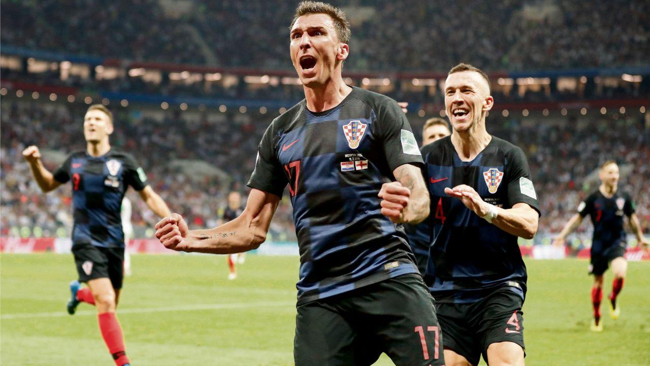 Mario Mandzukic will mit Kroatien den Titel holen. Gegen