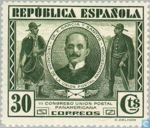 Spain [ESP] - Pan American Postal Union Congress 1931