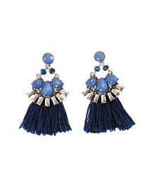 Boucles d'oreilles femme perles et pompons - BIJOU Femmes Camaïeu (6,99)