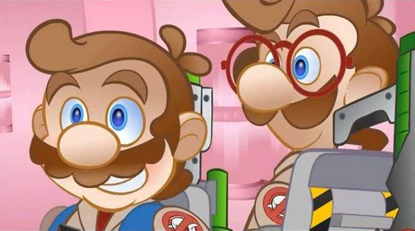 Mario + Ghostbusters XD