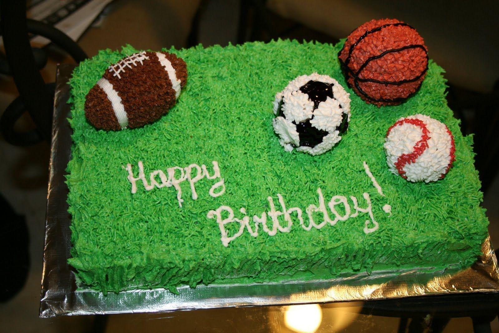Prime Sports Birthday Cakes Sports Cakes Sports Cake Ideas Sports Cake Birthday Cards Printable Benkemecafe Filternl