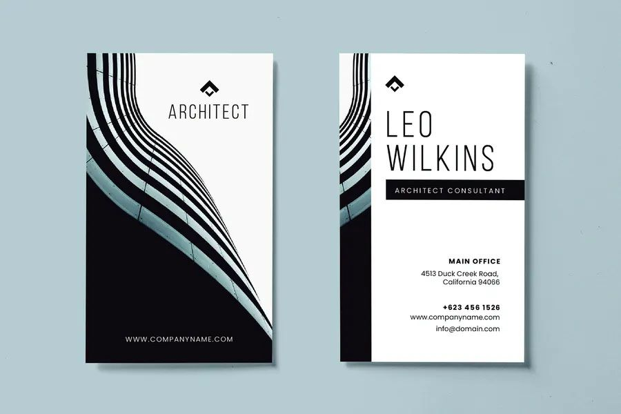 Business Card Design Template Business Card Template Design Minimalist Business Cards Business Card Design