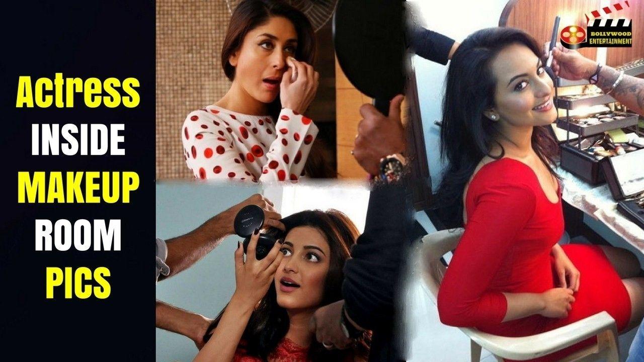 Top Bollywood Actress Inside Makeup Room Pics  Actresses, Makeup