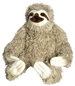 Wild Republic Cuddlekins Jumbo Sloth Plush More Stuffed Animals At