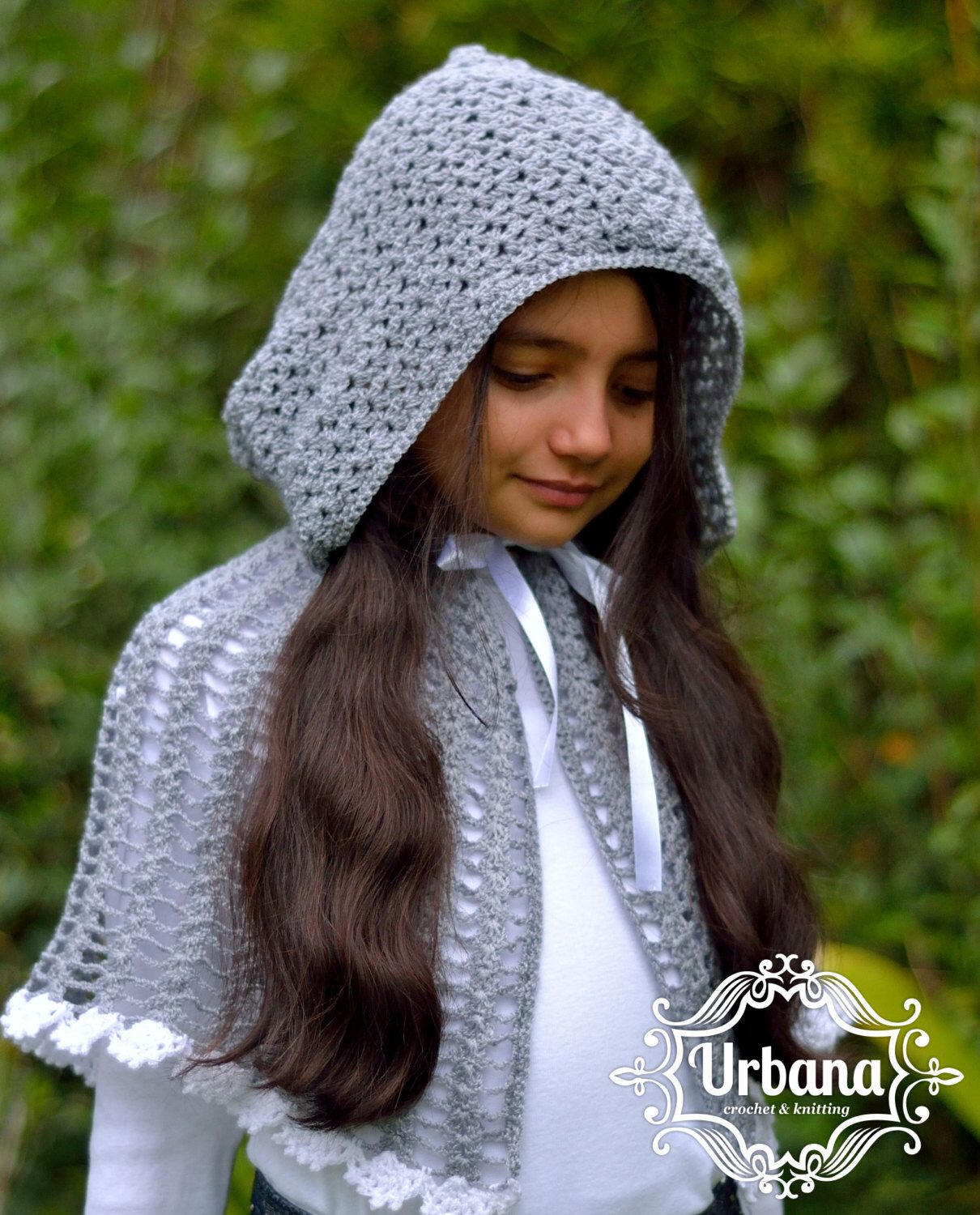 Unique Knit Hooded Cape Pattern Ornament - Sewing Pattern for ...