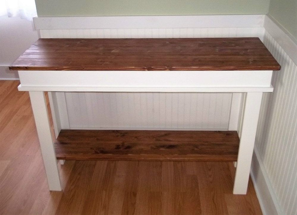 Farmhouse Console Table , Furniture , Country Side Table