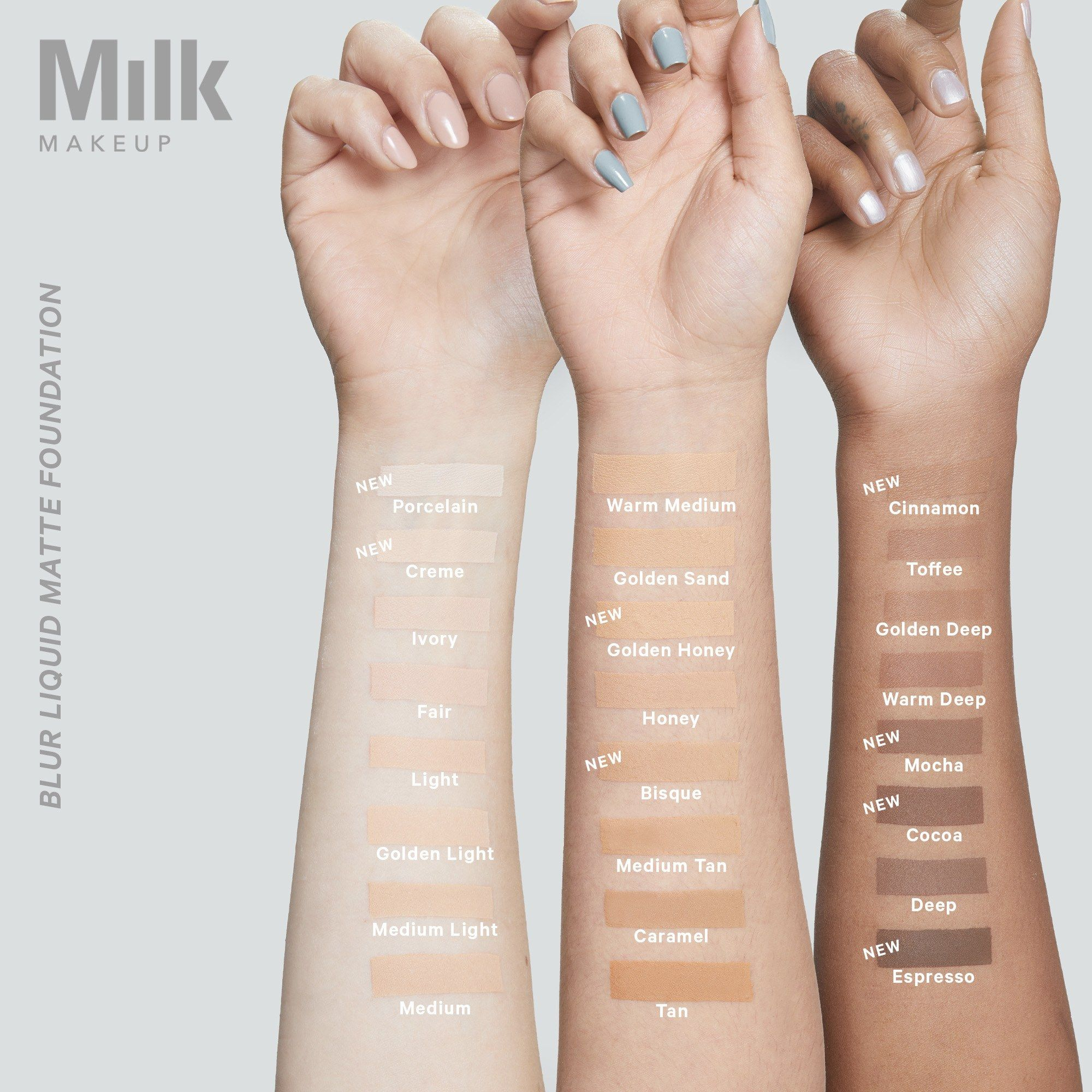 Milk Makeup Is Adding 16 New Blur Foundation and Flex
