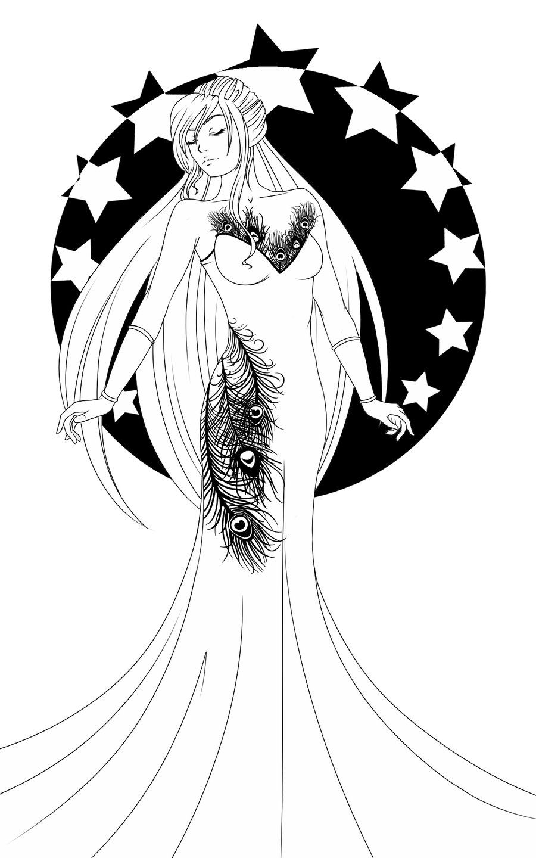 Hera Goddess Drawing Easy