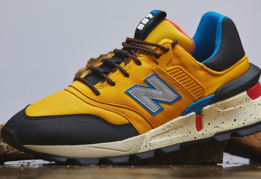 Meskie Buty Klasyczne New Balance Ms997skb Men S Shoes New Balance New Balance Sneaker