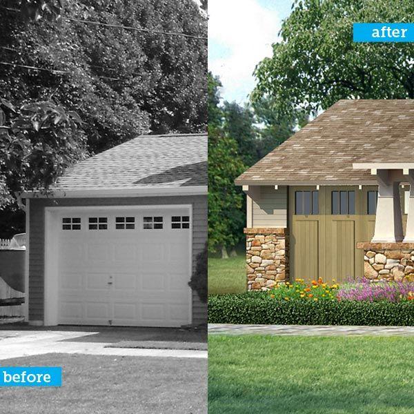 Atlanta Bungalow Renovation: Photoshop Redo: From Blocky To Bungalow