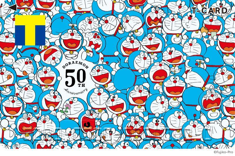 tカード ドラえもん50周年 ドラえもん キャラクターデザイン 壁紙