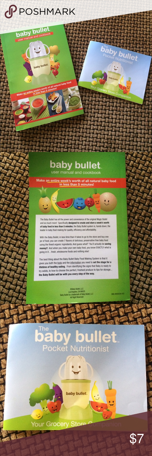 bundle baby bullet cookbook pocket nutritionist my posh closet rh pinterest com baby bullet user manual pdf baby bullet user manual pdf