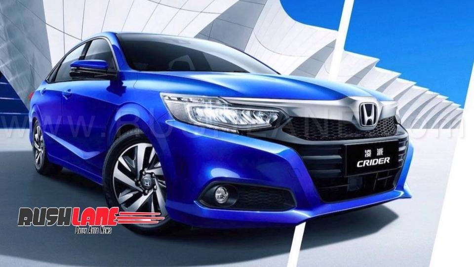 Honda City Based Crider Sedan Launched In China Bigger Than Civic For India Honda City Honda Sedan