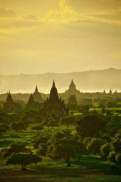 Land Before Time Bagan Myanmar 2009