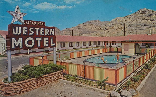 Western Motel Wendover Utah Motel Wendover Googie