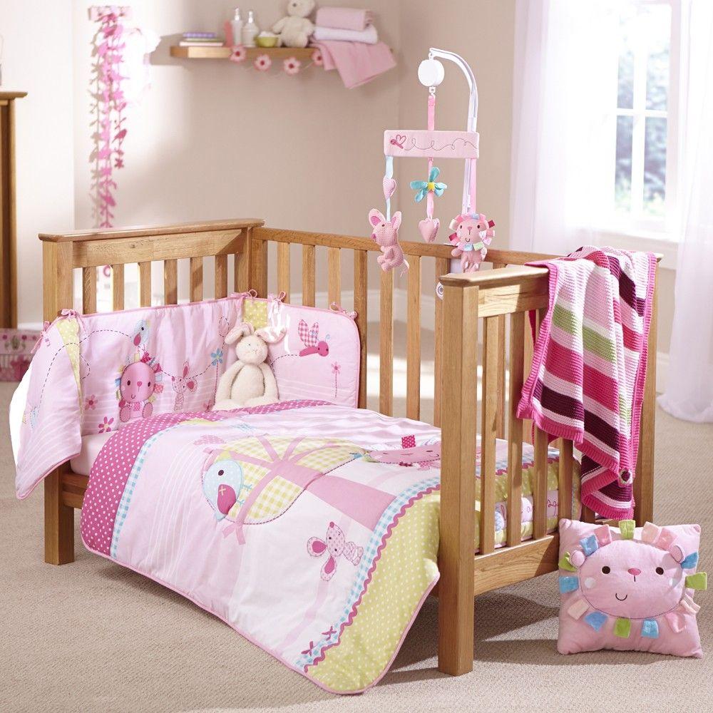 Clair De Lune 2pc Cot Bed Bedding Set Lottie Squeek