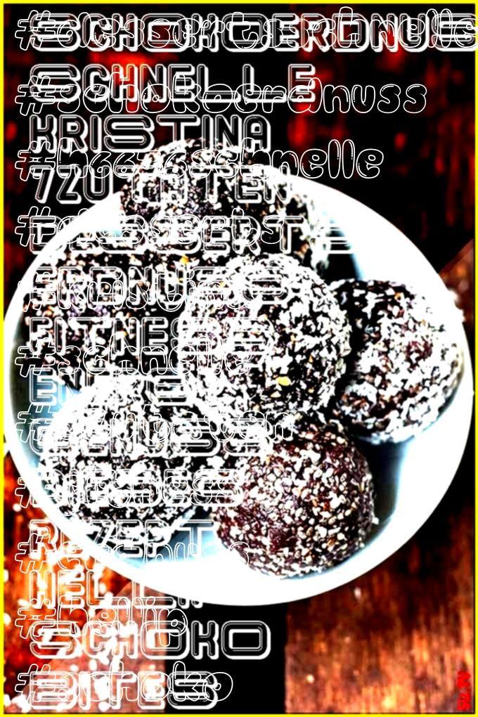 #dessertsschnelle #schokoerdnuss #h6636schnelle #desserts #kristina #schnelle #7zutaten #fitness #er...