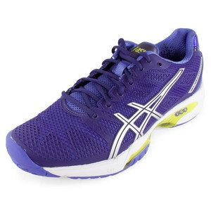 Asics Women's Gel Solution Speed 2 Tennis Shoes Purple and Silver - Tennis  Express