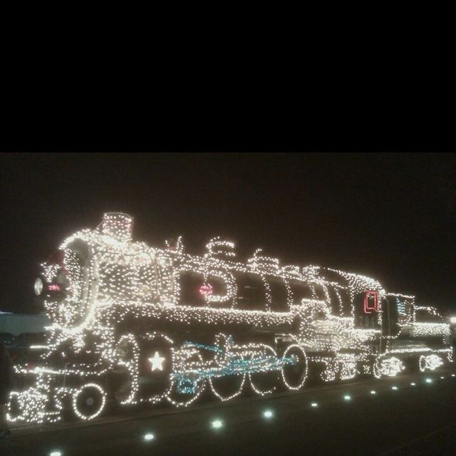 Sunset Station Christmas Train, fun night! ~\u2022♥\u2022~I Hear The Train
