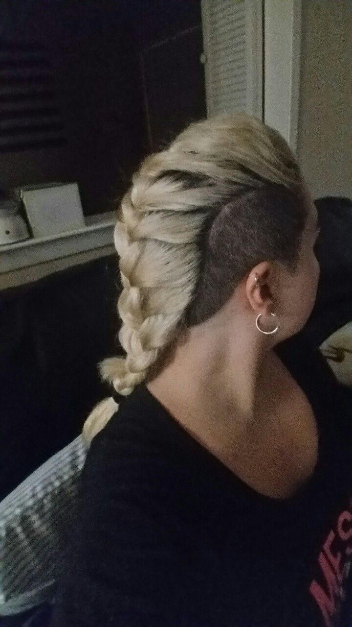 Undercut. Side shave. French braid. Vikings.