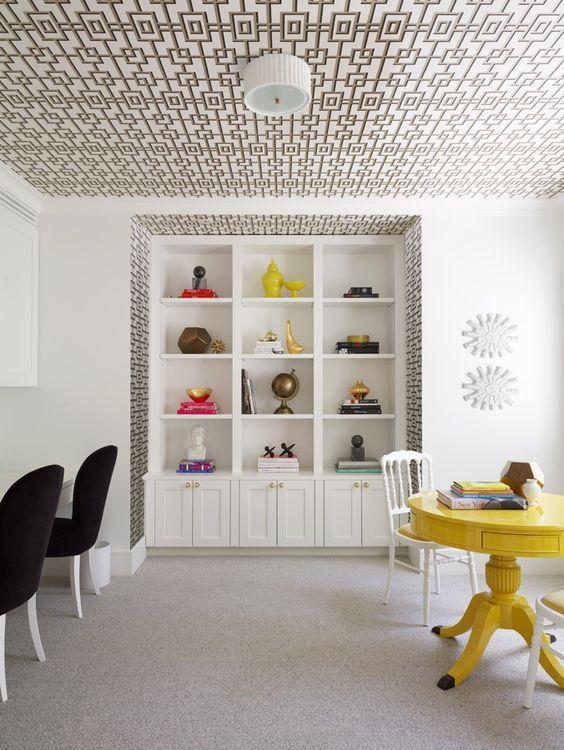 Techos protagonistas de la decoracin 40 Fotos de techos decorados
