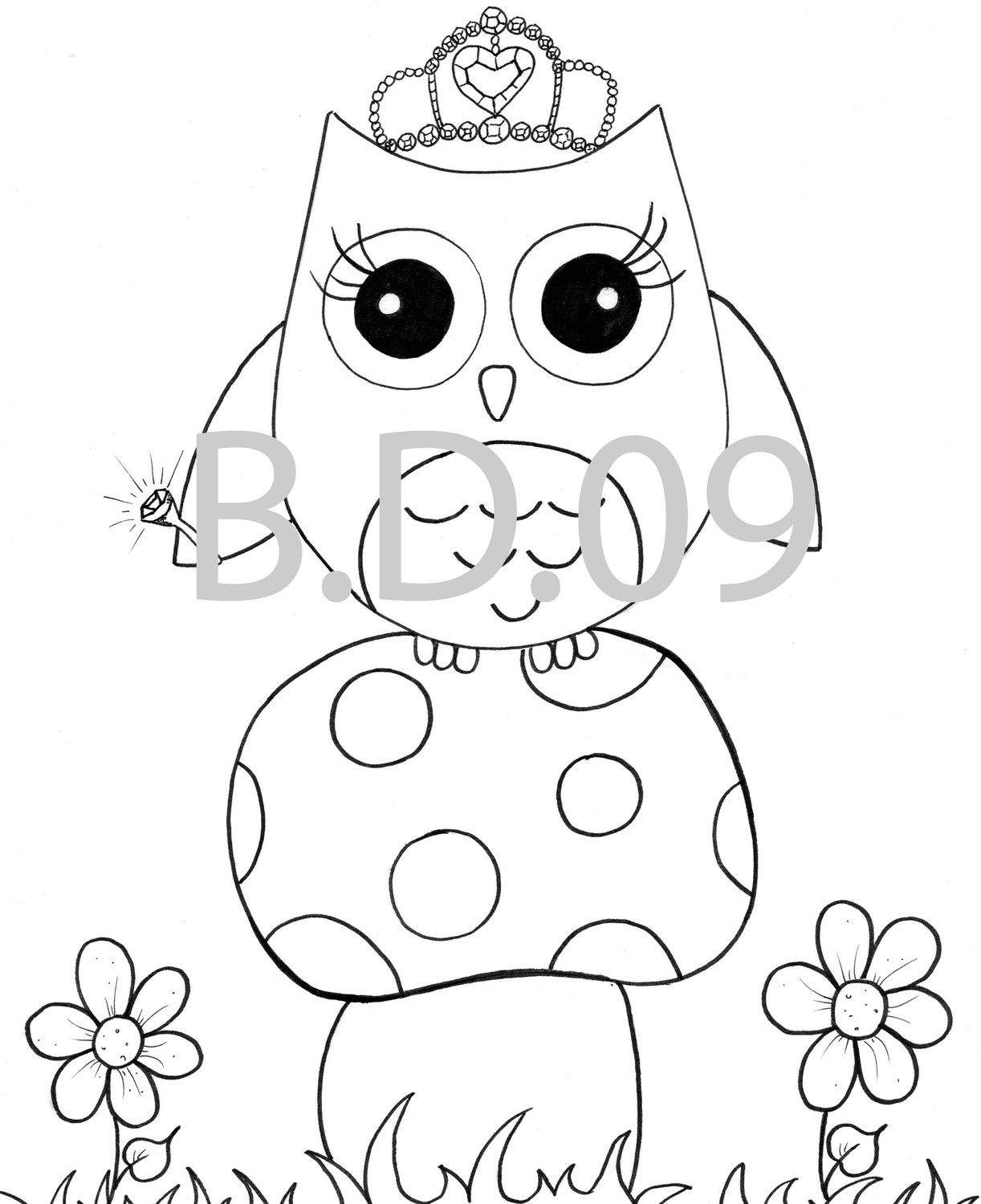 Owl themed coloring pages | FotoFuze | dibujos de buhos para ...
