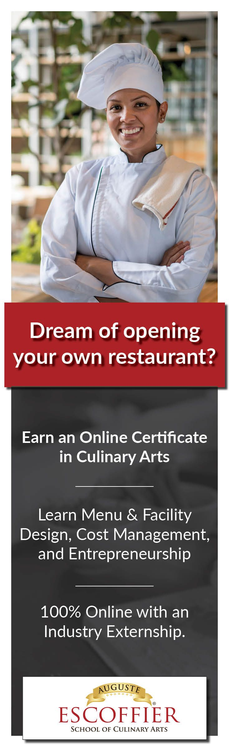 Dream Of Opening Your Own Restaurant Earn An Online Certificate In