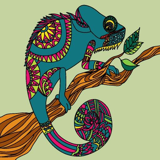 chameleon | pins, merken