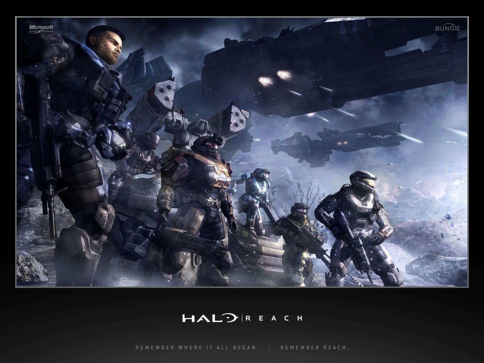Noble Team Halo Reach Halo Game Halo Master Chief