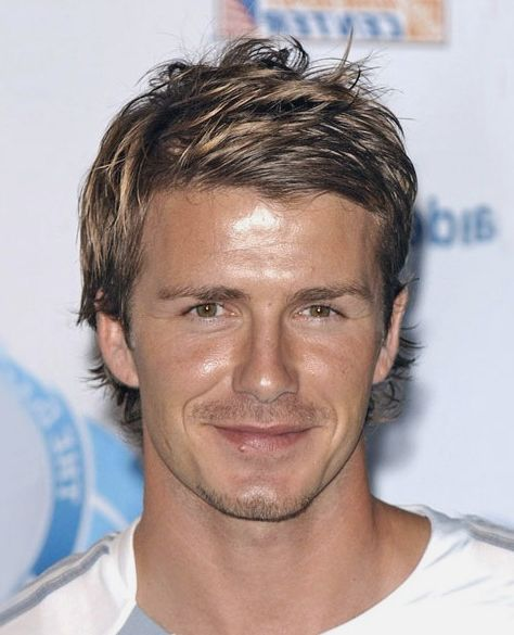 Trendy Haircuts For Wavy Hair Fine Curly Hair Men Haircuts For Short Hair Hairstyles For Medium Beckham Hair David Beckham Hairstyle Beckham Haircut