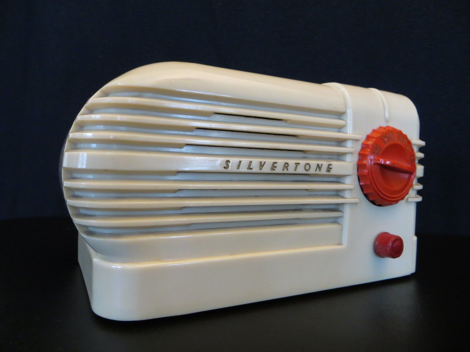 Vintage 1930s art deco old silvertone classic streamlined for Mobilia qatar