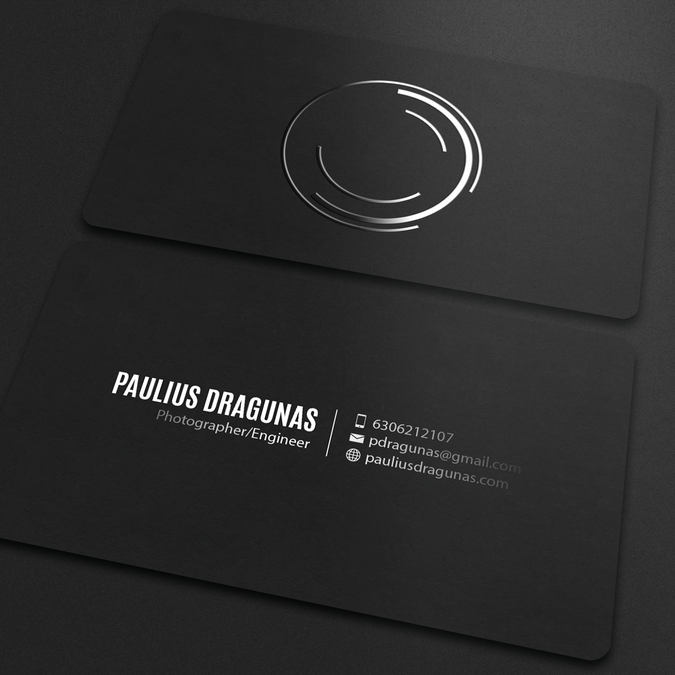 Freelance create a minimalistic spot uv business card for a freelance create a minimalistic spot uv business card for a photographerengineer by an reheart Choice Image