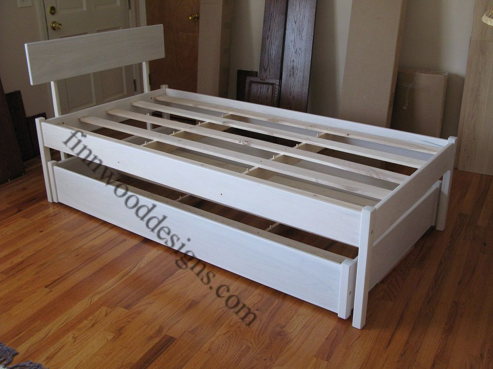 Best Simplicity Trundle Bed Twin Trundle Bed Platform Bed 400 x 300