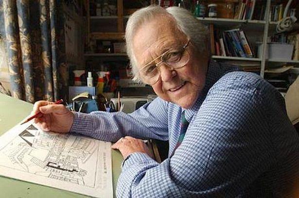 Grenfell Jones 'Gren', Cartoonist South Wales Echo