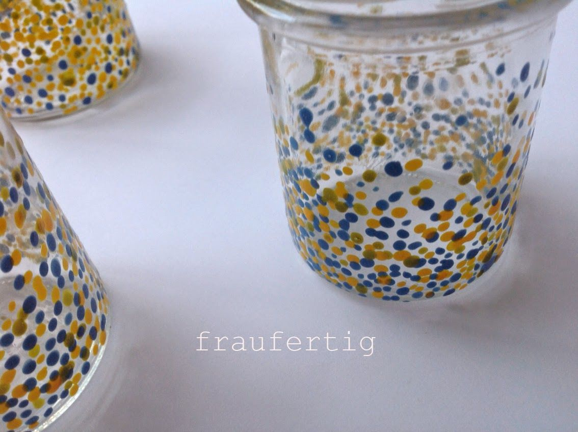 dotted glass