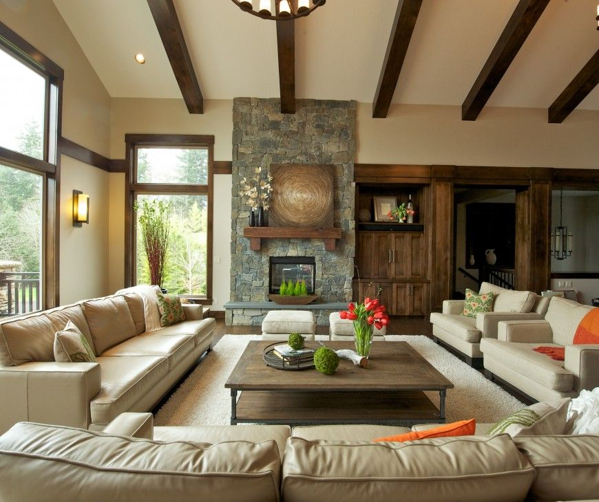 Custom Home Interior