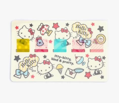 Hello Kitty Sticky Flags: Pretty
