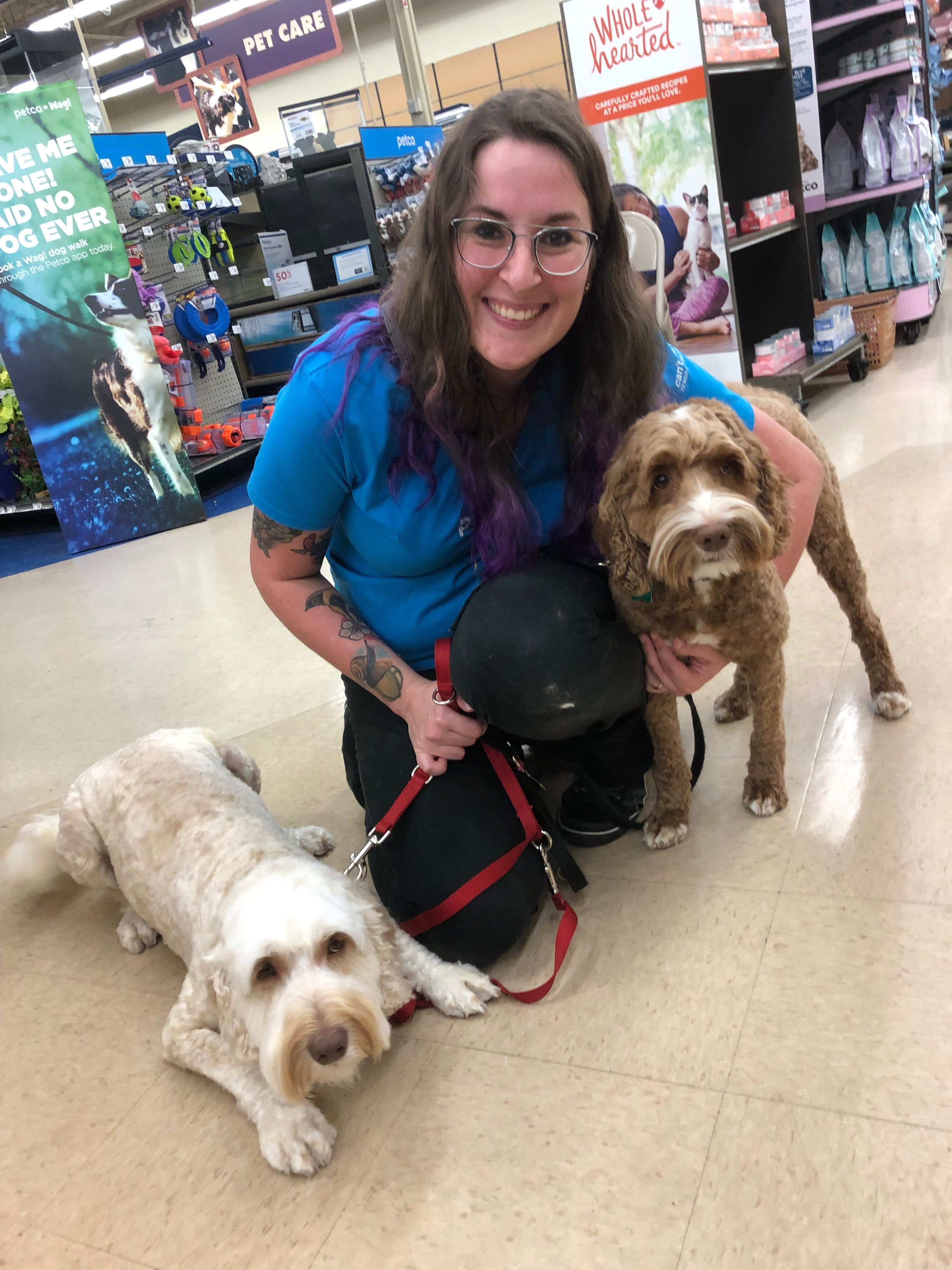Thank You So Much Rebecca Werner At Petco For Doing Such A Fantastic Job Grooming Both Of My Pups You Always Do A Great Job In 2020 Petco Pup Animals