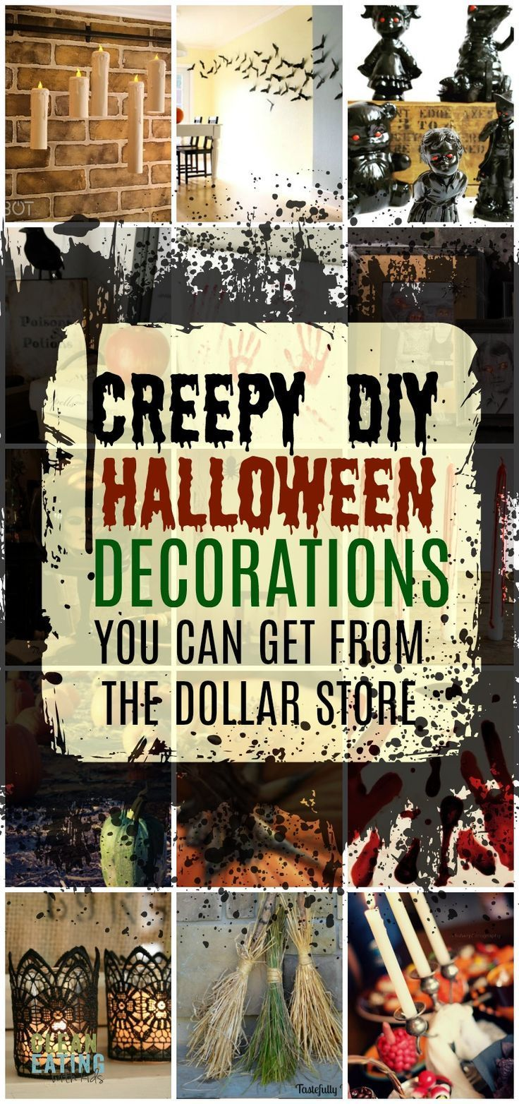 You Won't Believe these are Dollar Store DIY Halloween Decorations! – Clean Eating with kids