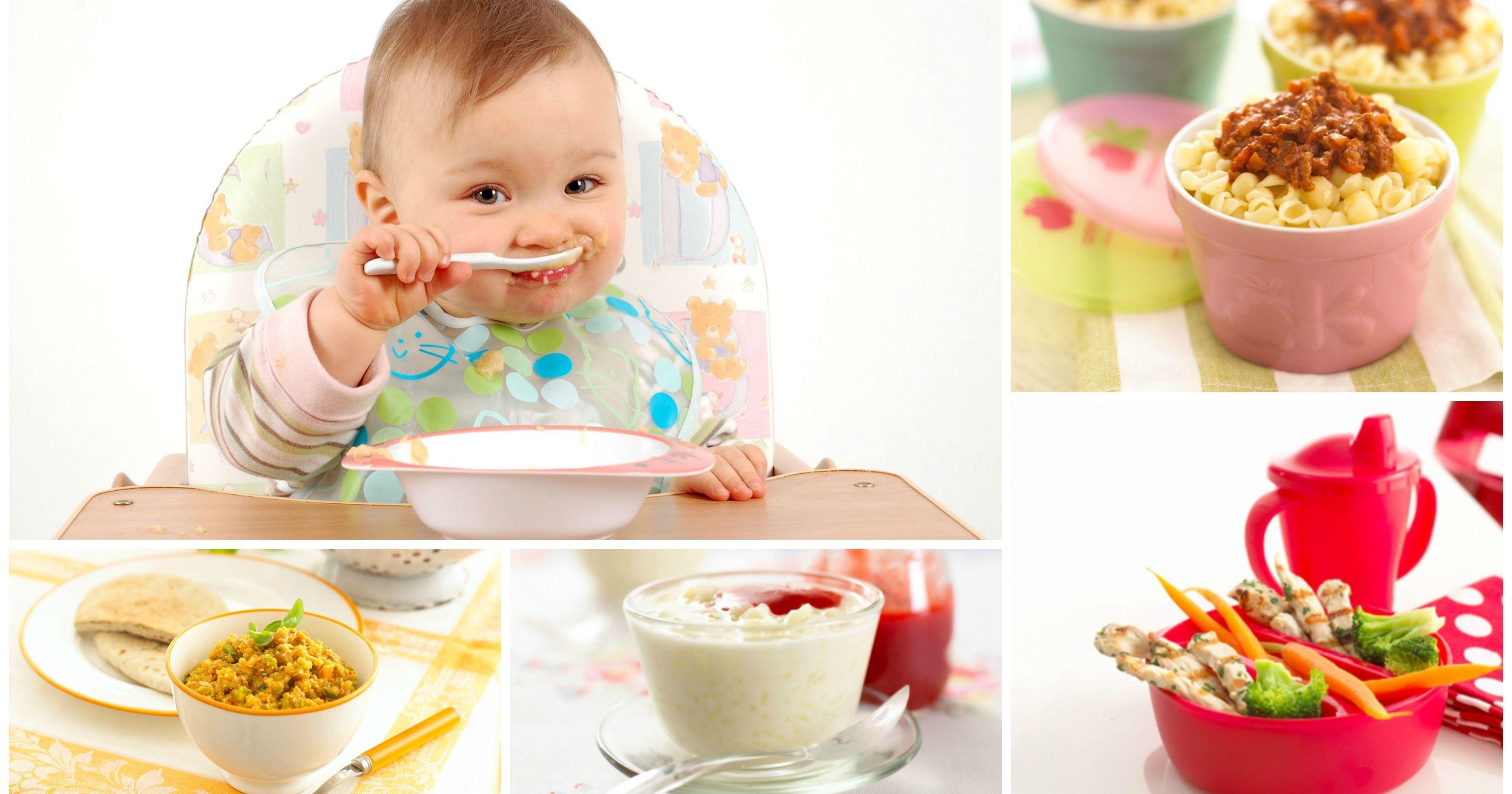 ¿Qué cocinar para tu bebé?