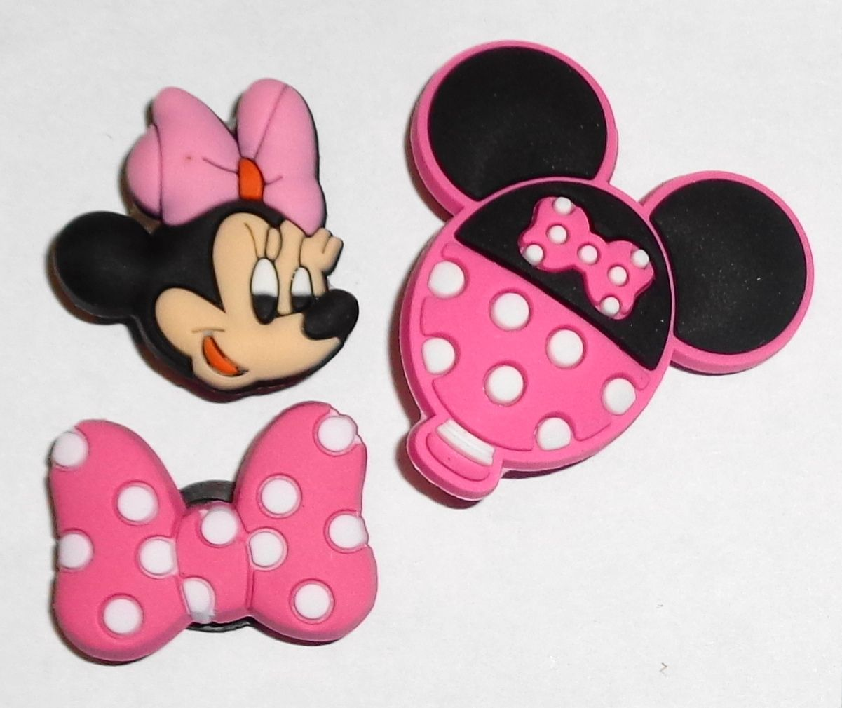 Mickey /& Friends Shoe Charms Shoe Buttons Shoe Pins for Your Crocs like Jibbitz