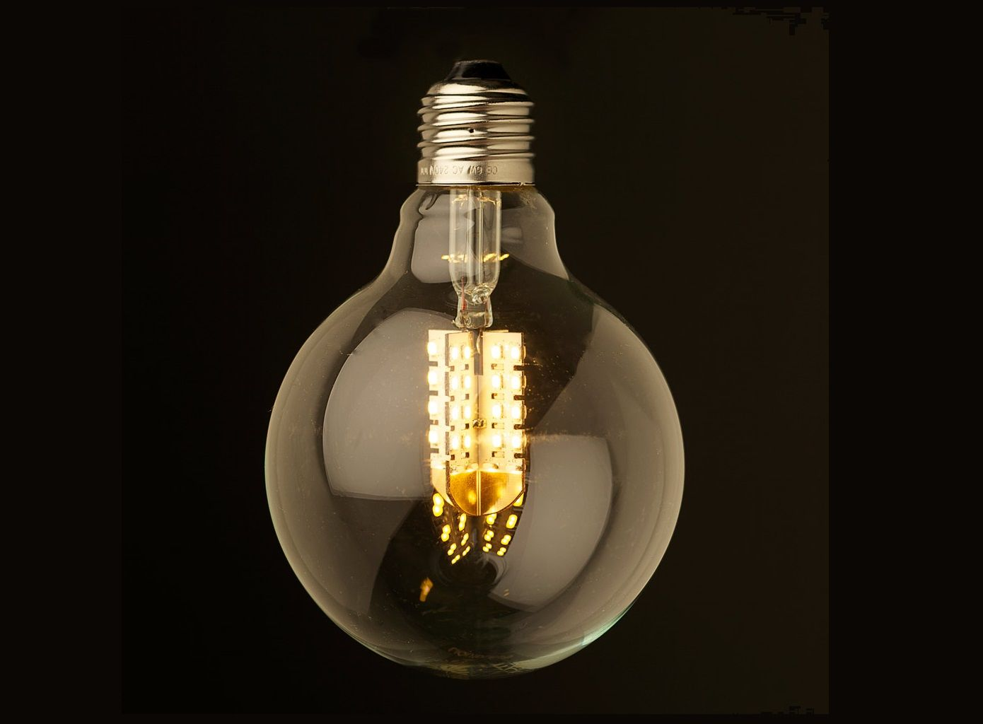 Led Globe 230 Volt 5 Watt 410 Lumen Vv 40 Watt Warm Wit E27 Dimbaar Kogel Lamplicht Lampvoeten Light Bulb