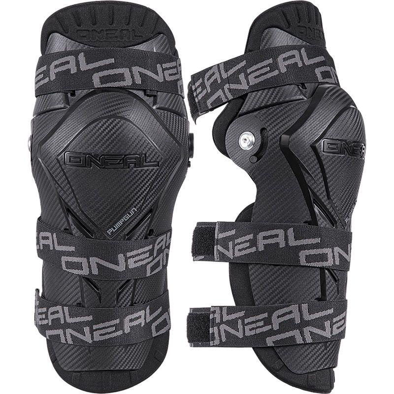Oneal Pumpgun MX Black Adult Knee Guards Bmx dirt